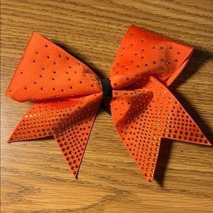 orange cheer bow